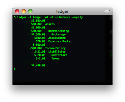 ledger screenshot