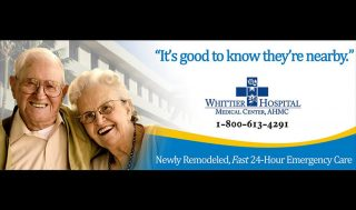 Whittier Hospital Billboard